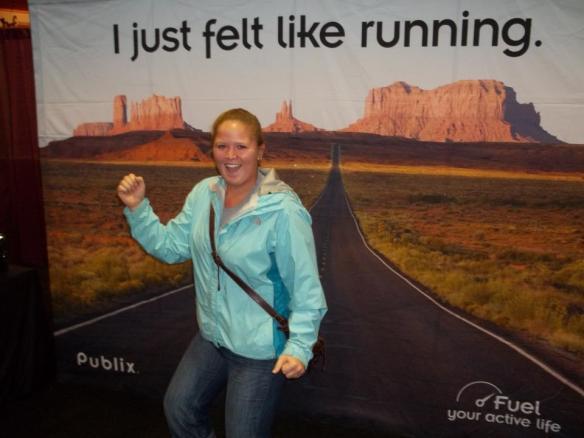 ever just feel like running?