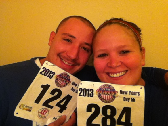 so proud of our bibs.