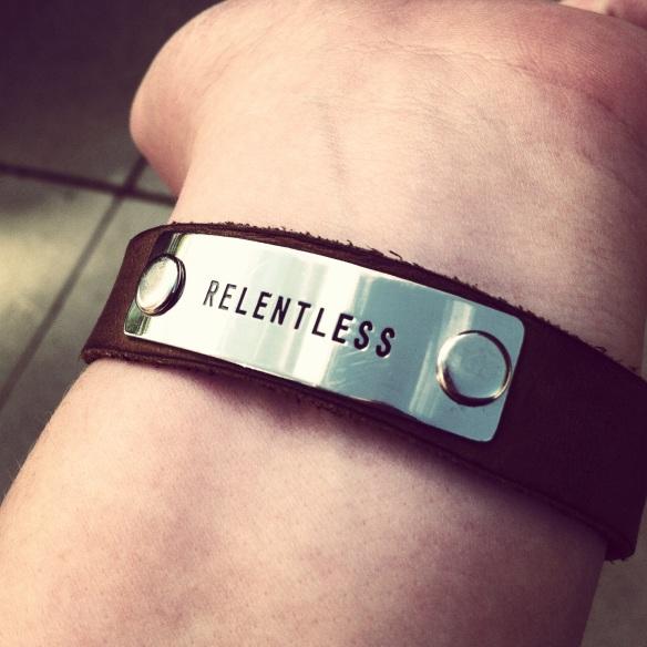 my bracelet and my wrist
