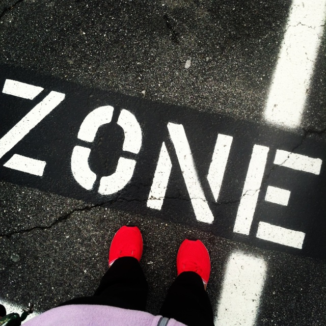 step out of your zone