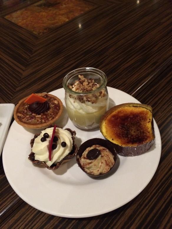 ALL the dessert.